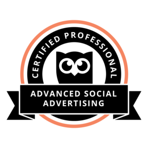 Advanced Social Advertising Professional Designation